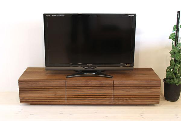 シャルール 150テレビボード(ウォールナット)