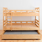 秘密基地2段ベッド